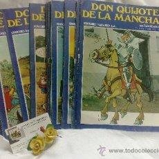 Libros de segunda mano: AÑO 1972.- DON QUIJOTE DE LA MANCHA.- COLECCIÓN DE 31 FASCÍCULOS DE LA ÉPOCA.. Lote 38538823