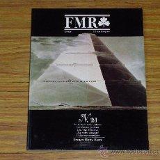 Libros de segunda mano: FMR N. 21 EUROPE EDITION FRANÇAISE. Lote 38587154