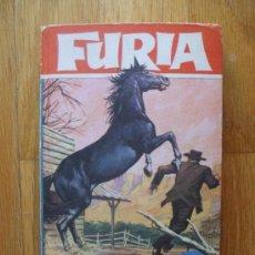 Libros de segunda mano: FURIA, EL RANCHO DE LOS VISONES, COLECCION HEROES, BRUGUERA. Lote 38630716