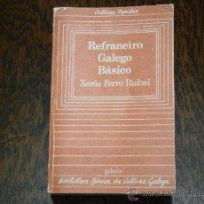 Libros de segunda mano: REFRANEIRO GALEGO BÁSICO . Lote 38691220
