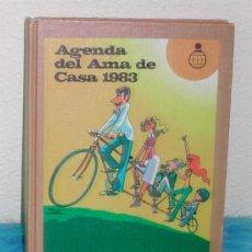 Libros de segunda mano: AGENDA DEL AMA DE CASA 1.983 - CAJA DE AHORROS DE ZARAGOZA, ARAGÓN Y RIOJA. Lote 38720703