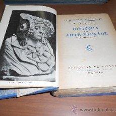 Libros de segunda mano: JUAN ANTONIO GAYA NUÑO HISTORIA DEL ARTE ESPAÑOL EDITORIAL PLUS ULTRA MADRID 1946. Lote 38718723