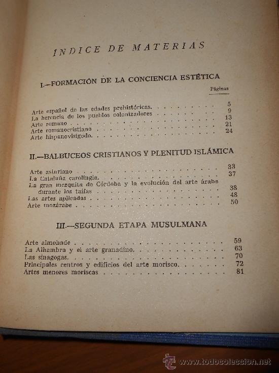 Libros de segunda mano: juan antonio gaya nuño historia del arte español editorial plus ultra madrid 1946 - Foto 4 - 38718723