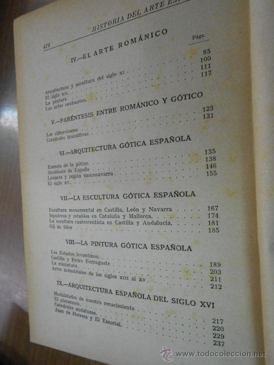 Libros de segunda mano: juan antonio gaya nuño historia del arte español editorial plus ultra madrid 1946 - Foto 5 - 38718723