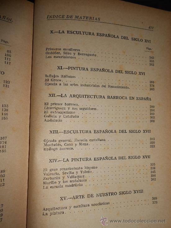 Libros de segunda mano: juan antonio gaya nuño historia del arte español editorial plus ultra madrid 1946 - Foto 6 - 38718723