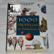 Libros de segunda mano: 1000 PROFECIAS DE NOSTRADAMUS - SERVILIBRO - 2002 - . Lote 38726201