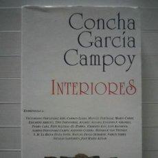 Libros de segunda mano: GARCÍA CAMPOY, CONCHA - INTERIORES - EDICIONES LIBERTARIAS. Lote 38837008