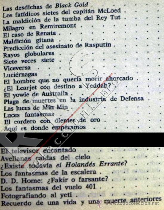 Libros de segunda mano: UN MUNDO DE FENÓMENOS EXTRAÑOS - CHARLES BERLITZ MISTERIOS ESOTERISMO MISTERIO OVNIS OVNI ETC LIBRO - Foto 7 - 44263032