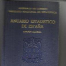 Libros de segunda mano: ANUARIO ESTADÍSTICO DE ESPAÑA. INSTITUTO NACIONAL DE ESTADÍSTICA. BARCELONA. 1961. Lote 38844298