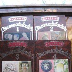 Libros de segunda mano: TALLER DE MANUALIDADES - 4 VOLUMENES EDICIONES IBEROAMERICANAS. Lote 38861469