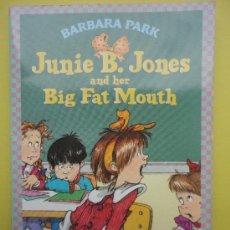 Libros de segunda mano: JUNNIE B. JONES. BIF FAT MOUTH (ESTÁ EN INGLÉS). Lote 38881792