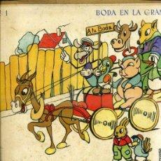Libros de segunda mano: COLECCIÓN DE 6 CUADERNOS PARA COLOREAR - ANIMALES COMICOS - EDITORIAL ROMA. Lote 38887845