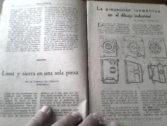 Libros de segunda mano: TECNI-CIENCIA, NUMERO 4. - Foto 3 - 33424885