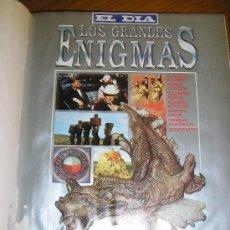 Libros de segunda mano: LOTE DE 16 EJEMPLARES ENCUADERNADOS DE LOS GRANDES ENIGMAS LAROUSSE - ARGENTINA - 1993 - RARO!. Lote 38914129
