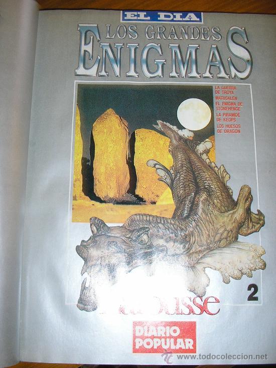 Libros de segunda mano: LOTE DE 16 EJEMPLARES ENCUADERNADOS DE LOS GRANDES ENIGMAS LAROUSSE - Argentina - 1993 - RARO! - Foto 3 - 38914129