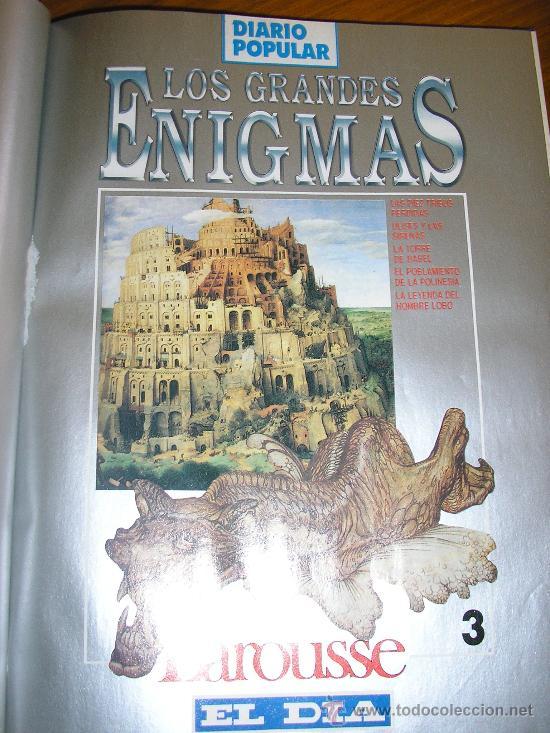 Libros de segunda mano: LOTE DE 16 EJEMPLARES ENCUADERNADOS DE LOS GRANDES ENIGMAS LAROUSSE - Argentina - 1993 - RARO! - Foto 4 - 38914129