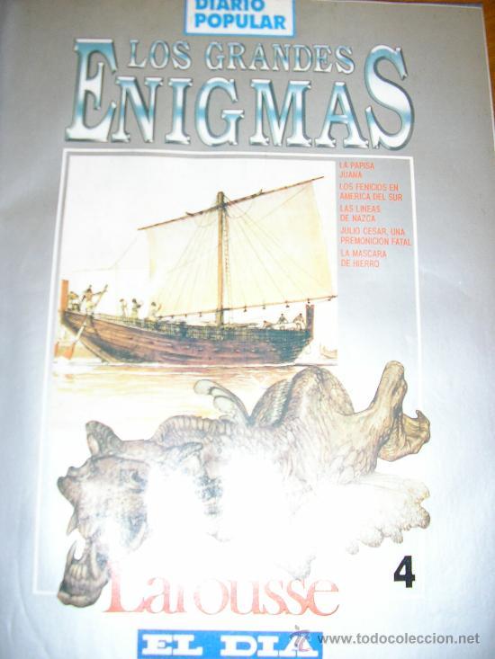 Libros de segunda mano: LOTE DE 16 EJEMPLARES ENCUADERNADOS DE LOS GRANDES ENIGMAS LAROUSSE - Argentina - 1993 - RARO! - Foto 5 - 38914129