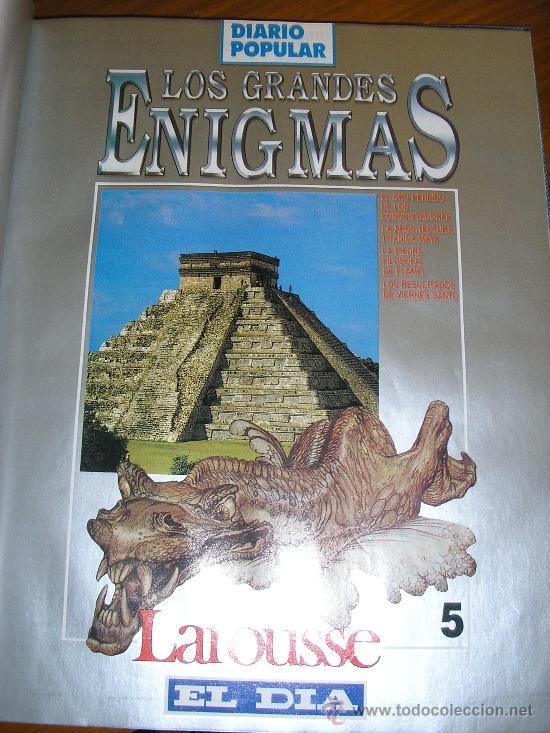 Libros de segunda mano: LOTE DE 16 EJEMPLARES ENCUADERNADOS DE LOS GRANDES ENIGMAS LAROUSSE - Argentina - 1993 - RARO! - Foto 6 - 38914129