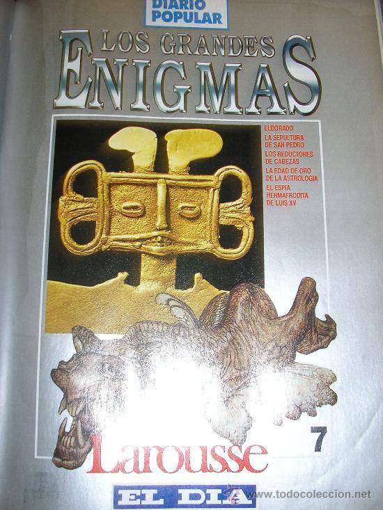 Libros de segunda mano: LOTE DE 16 EJEMPLARES ENCUADERNADOS DE LOS GRANDES ENIGMAS LAROUSSE - Argentina - 1993 - RARO! - Foto 7 - 38914129