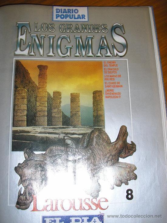Libros de segunda mano: LOTE DE 16 EJEMPLARES ENCUADERNADOS DE LOS GRANDES ENIGMAS LAROUSSE - Argentina - 1993 - RARO! - Foto 8 - 38914129