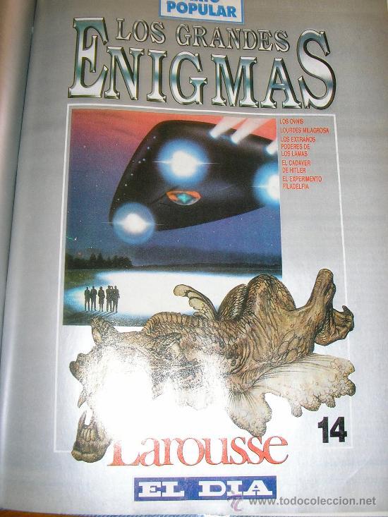 Libros de segunda mano: LOTE DE 16 EJEMPLARES ENCUADERNADOS DE LOS GRANDES ENIGMAS LAROUSSE - Argentina - 1993 - RARO! - Foto 13 - 38914129