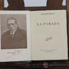 Libros de segunda mano: LP-016 - LA PARADA. JOAQUIM RUYRA. EDIT SELCTA. 1947.. Lote 38939547