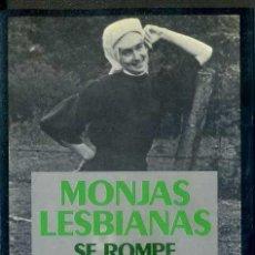 Libros de segunda mano: CORB Y MANAHAN : MONJAS LESBIANAS (SEIX BARRAL, 1985) . Lote 38942681