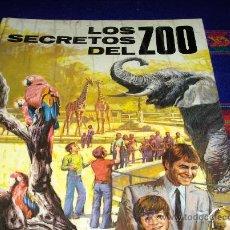 Libros de segunda mano: LOS SECRETOS DEL ZOO. PLAZA Y JANÉS 1973. TAPAS DURAS Y MUY ILUSTRADO.. Lote 38956422