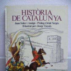 Libros de segunda mano: HISTORIA DE CATALUNYA, JOAN SOLER I AMIGÓ. Lote 38969642