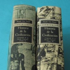 Libros de segunda mano: HISTORIA DE LA CIVILIZACIÓN ( DOS TOMOS). COMPENDIO DE LA HISTORIA UNIVERSAL. RICARDO VERA TORNELL. Lote 39009614