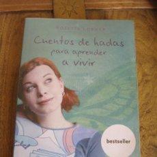 Libros de segunda mano: CUENTOS DE HADAS PARA APRENDER A VIVIR. Lote 38994171