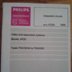 Libros de segunda mano: DATA HAND BOOK CIRCUITOS INTEGRADOS DE VIDEO. Lote 38995427