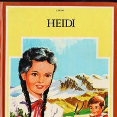 Libros de segunda mano: HEIDI - J. SPYRI - COL: CLASICA JUVENIL - ED. FHER - TAPAS DURAS - AÑO 1984 -. Lote 39025671