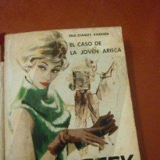 Libros de segunda mano: EL CASO DE LA JOVEN ARISCA. ERLE STANLEY GARDNER. EDITORIAL MOLINO. 3ª EDICION. BARCELONA, 1962.. Lote 39081871