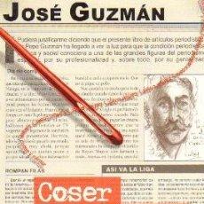 Libros de segunda mano: COSER Y CANTAR. PR-046. Lote 39121189