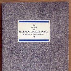 Libros de segunda mano: FEDERICO GARCIA LORCA, DIBUJOS. Lote 39193276