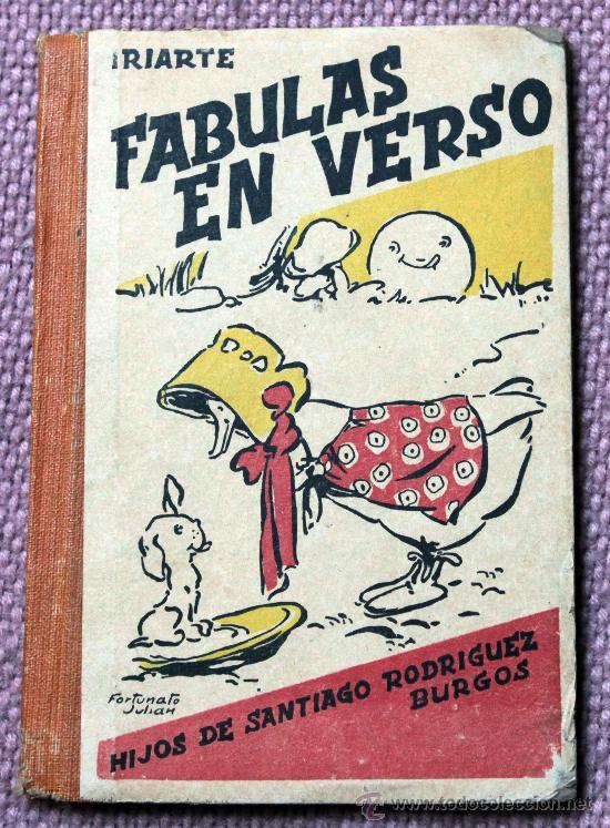 FABULAS EN VERSO DE IRIARTE (Libros de Segunda Mano - Bellas artes, ocio y coleccionismo - Otros)