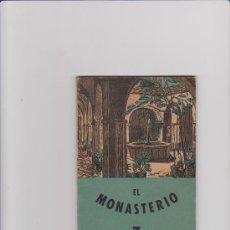 Libros de segunda mano: EL MONASTERIO (3) - JUAN SUBIAS GALTER - ED. SEIX BARRAL / BARCELONA / ILUSTRADO. Lote 39204595