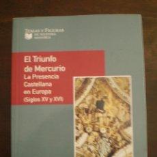 Libros de segunda mano: LA PRESENCIA CASTELLANA EN EUROPA(SIGLOS XV Y XVI). Lote 39299882