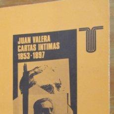Libros de segunda mano: JUAN VALERA. CARTAS ÍNTIMAS 1853-1897 (TAURUS). Lote 39321394