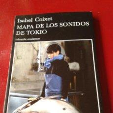 Libros de segunda mano: MAPA DE LOS SONIDOS DE TOKIO LIBRO BASADO EN LA PELÍCULA CINE FILM DE ISABEL COIXET. Lote 39330339