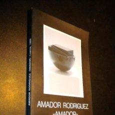 Libros de segunda mano: HOMENAJE A AMADOR RODRIGUEZ AMADOR / JESUS VILLA PASTUR / GRAFICAS SUMMA OVIEDO1992. Lote 39370451