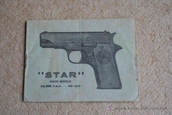 manual de la pistola autom tica star 9 mm comprar en rh todocoleccion net Star 380 Stainless Interarms Star 380 Pistol