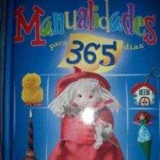 Libros de segunda mano: LIBRO - MANUALIDADES PARA 365 DIAS - NUEVO - TAPA ACOLCHADA. Lote 39405934