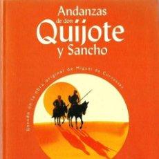 Libros de segunda mano: ANDANZAS DE DON QUIJOTE Y SANCHO - ED. BRUÑO. Lote 39422367