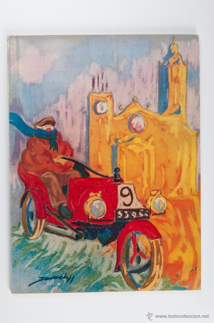 XIX RALLYE INTERNACIONAL COCHES DE EPOCA BARCELONA SITGES VI TROFEO SCHWEPPES, AÑO 1977 (Libros de Segunda Mano - Bellas artes, ocio y coleccionismo - Otros)