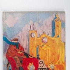 Libros de segunda mano: XIX RALLYE INTERNACIONAL COCHES DE EPOCA BARCELONA SITGES VI TROFEO SCHWEPPES, AÑO 1977. Lote 39448074