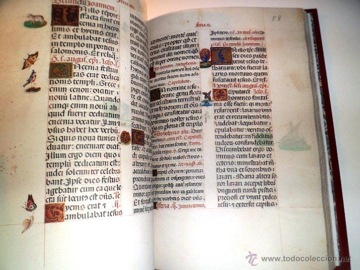 Libros de segunda mano: LIVRO DE HORAS DA CONDESSA DE BRETIANDOS. FACSÍMIL. NUMERADO Y ACTA NOTARIAL. - Foto 4 - 39549453