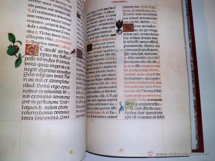 Libros de segunda mano: LIVRO DE HORAS DA CONDESSA DE BRETIANDOS. FACSÍMIL. NUMERADO Y ACTA NOTARIAL. - Foto 5 - 39549453
