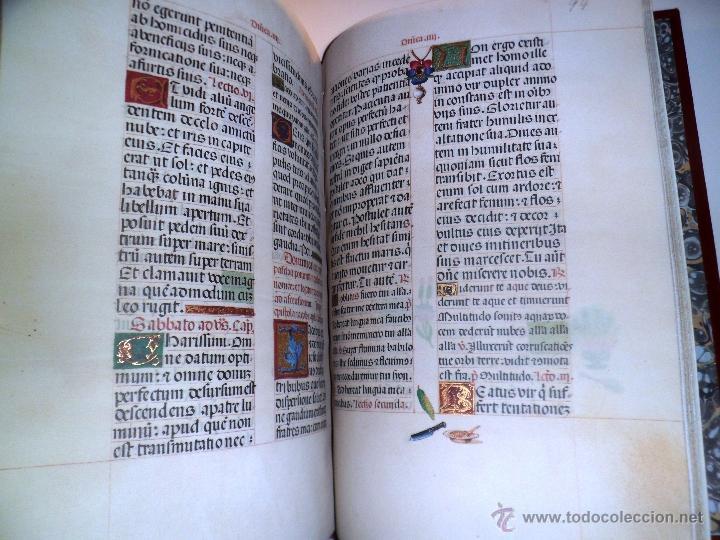 Libros de segunda mano: LIVRO DE HORAS DA CONDESSA DE BRETIANDOS. FACSÍMIL. NUMERADO Y ACTA NOTARIAL. - Foto 6 - 39549453